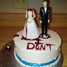 divorce cake toppers fifteen of the goriest divorce cakes popcorn horror