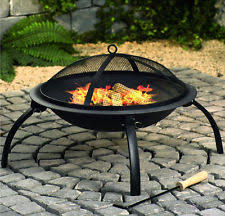 how to use a fire pit on a wood deck ebay