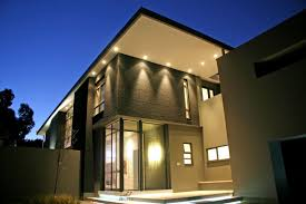 exterior high quality exterior home lighting with soffit lighting