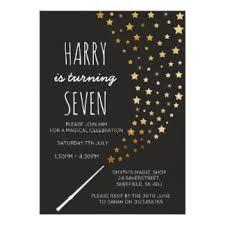 magic party invitations u0026 announcements zazzle