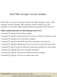 Resume Job Interview Example by Material Manager Resume Examples Resume For Your Job Application