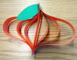 paper pumpkin crafts for kids laura williams