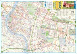 Bangkok Map Maps For Travel City Maps Road Maps Guides Globes Topographic