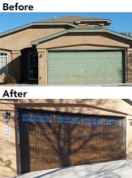 before and after overhead door company of albuquerque february 2016