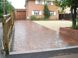 Drainage Patio Patio Outdoor Space With Brick Floor Also Patio Channel As