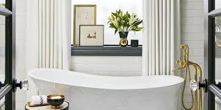 luxury bathrooms photos best bathroom inspiration designed suzann keltzein the dark walls and geometric tiles this