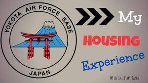 Yokota Air Base Map Yokota Afb Housing Experience Youtube