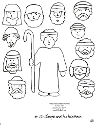 bible joseph and his brothers free coloring pages on art