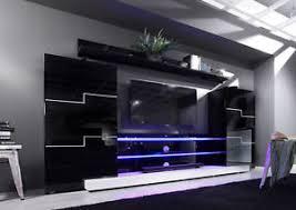 wohnzimmer g nstig kaufen schön moderne schrankwand wohnwand anbauwand weiß hochglanz