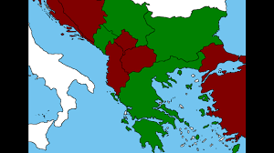 Greece Turkey Map by Balkan War Bulgaria Serbia Greece Montenegro Vs Turkey Macedonia
