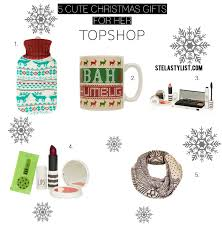 5 cute christmas gifts for her topshop stealstylist com