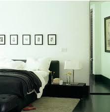 chambre avec lit noir déco chambre noir et blanc et gris idées chic deco cool