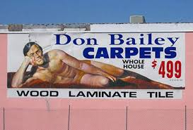 Whats Up With The Naked Carpet Guy WLRN - Don bailey flooring