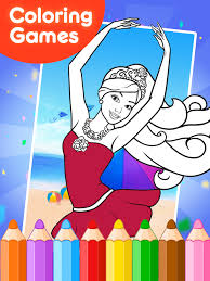 coloring games barby android apps google play