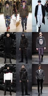 men u0027s autumn winter 2014 fashion trend punk inspired style