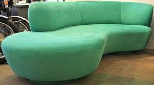 Mid Century Modern Furniture Miami by Vladimir Kagan Serpentine Sofas With Arm German Designer U002790s