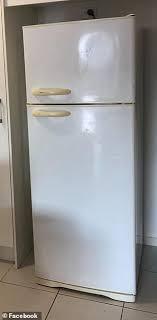 black cabinet door handles bunnings bunnings shopper transforms scratched fridge into a
