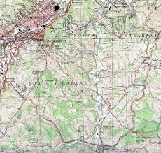 County Map Of Washington Washington County Pennsylvania
