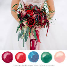 Blue And Red Color Combination by Wedding Colors Archives Mospens Studio