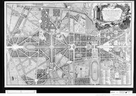 Versailles Garden Map Travel In A Garden Les Jardins Des Modèles D U0027organisation Pour L