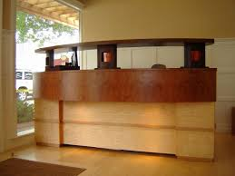 Standing Reception Desk Standing Reception Desk Best Of Custom Made Reception Desk By Thom