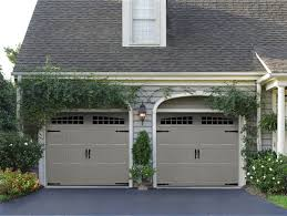 amarr oak summit carriage house garage doors on trac garage doors