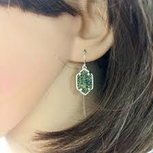 Big Chandelier Earrings Discount Big Stone Earrings 2017 Big Green Stone Earrings On