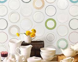Washable Wallpaper For Kitchen Backsplash by Kitchen Wallpaper Etsy