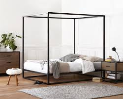 Metal Frame Canopy Bed by Oppet Canopy Bed U2013 Scandis