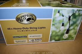 heavy duty string lights cash auctions auction surplus tools fixtures item hton bay