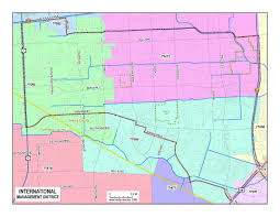 Harris County Zip Code Map by Maps U2013 International Management District