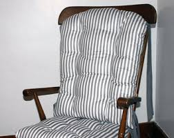 Rocking Chair Pads Nursery Reserved For Custom Childs Rocking Chair Cushions