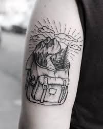 mountain tattoos u0026 top mountain range and scene design ideas 2017