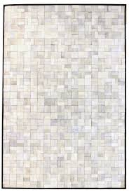 White Modern Rug Directory Galleries Modern Leather Area Rugs