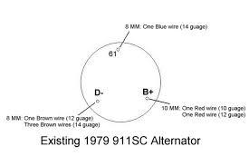alternator wiring advice pelican parts technical bbs
