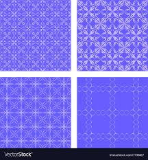 blue pattern background html blue seamless pattern background set royalty free vector