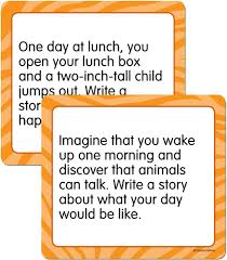 story starters narrative curriculum cut outs grade k 5 carson