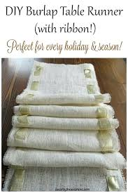 Table Runners For Round Tables Diy Burlap Table Runner U2013 Bazaraurorita Com