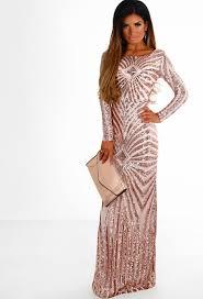 gold maxi dress golden dreams gold sequin sleeve maxi dress pink boutique