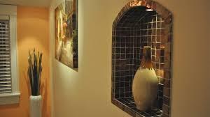 Crafty Inspiration Wall Niche Decor Also Idea Recessed Decorating