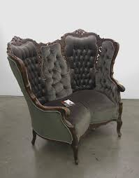 Vintage Chaise Lounge Chaise Lounges Furniture Victorian Arm Chair Sofa Antique L