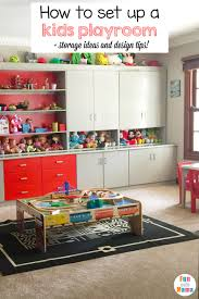 playroom table with storage kids playroom ideas and toy room tips fun with mama