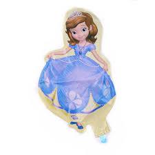 gogo paity sue sofia princess cartoon aluminum balloon ball