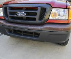 Old Ford Truck Bumpers - restore metal bumper 3 steps with pictures