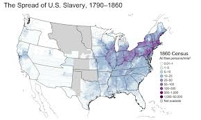 united states population map these maps reveal how slavery expanded across the united states