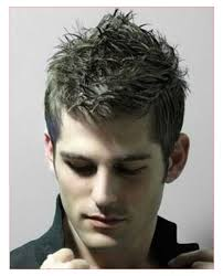good hairstyles for men with short hair or spiky hairstyles for