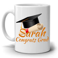 college graduation gifts for personalized congrats grad gift cap coffee mug college
