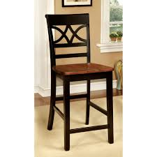 furniture of america seaberg country counter height dining chair