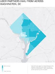 Dc Zip Code Map Driving Impact In Wards 7 And 8 Uber Blog
