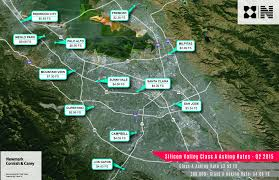Silicon Valley Map Finally San Jose Starts To Capitalize On Tech Boom News Fix